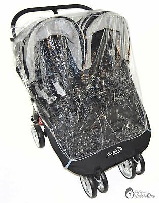 Raincover Compatible With Hauck Roadster Duo Slx Twin Double Pushchair • 12.99£