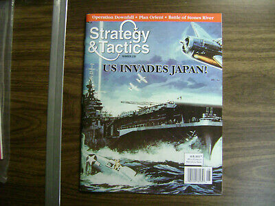 Strategy & Tactics #230 ~ Us Invades Japan ~ Unpunched ~ Decision Games • 25.75$