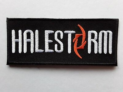 £3.19 • Buy Halestorm American Heavy Metal Punk Rock Music Band Embroidered Patch Uk Seller