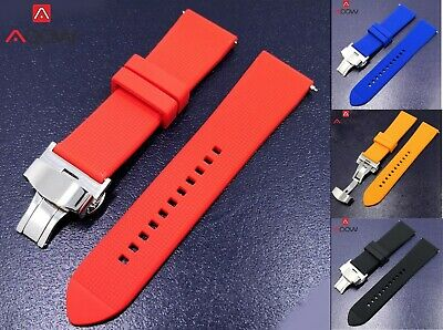 $ CDN17.83 • Buy Watch Silicone Diver 22mm Band Rubber Strap For Seiko Skx007 Skx009