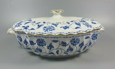 £124.99 • Buy Spode Colonel (blue) Y6235 Covered Vegetable Dish / Tureen