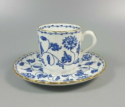 £24.99 • Buy Spode Colonel (blue) Y6235 Coffee Can / Cup And Saucer (perfect)