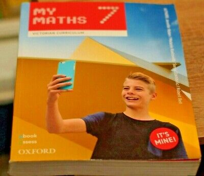 AU40.23 • Buy My Maths Year 7 Victorian Curriculum - Very Nice Condition