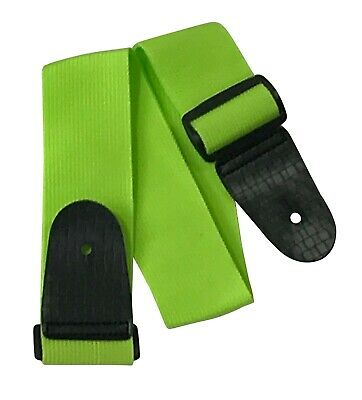 Guitar Strap LIME GREEN Children Kids 19 MUSIC 3/4 Harness Childs • 2.99£