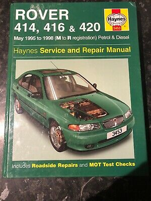 Rover 400 Series Haynes Manual (95-98) Service And Repair Manual • 5£