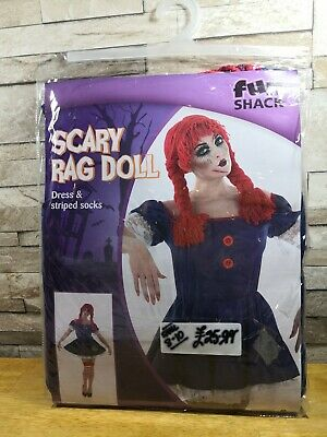 £14.99 • Buy Scary Rag Doll Fancy Dress Costume Size 16 - 18 Brand New In Packet