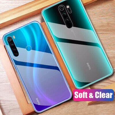 For Xiaomi Redmi Note 8T 8 7 6 5 ProCrystal Clear Soft Silicone Phone Case Cover • 1.99$