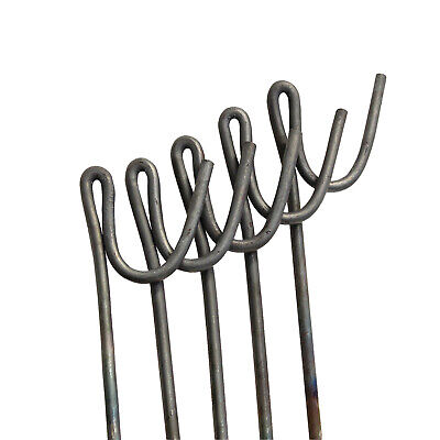 Steel Road Pins 1.3m Strong Fencing Posts Easy Install Barrier Mesh Stakes 10pk • 16.90£