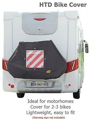 Motorhome HTD Bike Cover For 2-3 Bikes - Inc Carry Bag Lightweight, Easy To Use • 29.99£