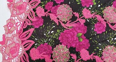 £10.99 • Buy Embroidered Cotton (per Metre) 'Cancelo A', Dress Fabric, Womenswear