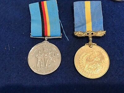 £145 • Buy BRITISH HONG KONG &   BRITISH FORCES GERMANY Full Sized Medals