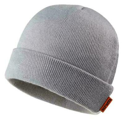 £5.49 • Buy Scruffs GREY THINUSLATE HAT Mens Winter Thermal Thinsulate Lined Work Hat
