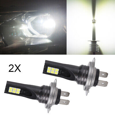 2X H7 LED 160W Headlight Fog Light Bulbs Super White Xenon Hi-Low Beam Car UK • 5.99£