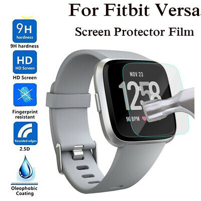 $ CDN1.89 • Buy Tempered Glass Screen Protector Guard Film For Fitbit Versa & Versa Lite