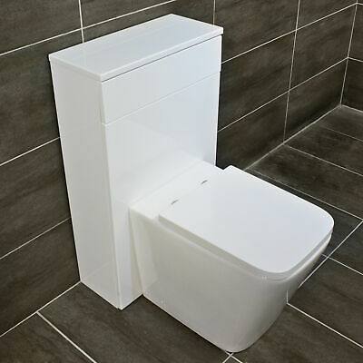 Meghan Back To Wall Compact Rimless Short Projection Toilet Wc + Soft Close Seat • 139.99£