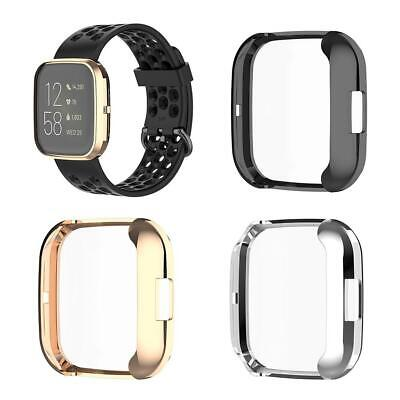$ CDN4.35 • Buy Fitbit Versa 2 Watch Soft Plating Full Body TPU Protector Case Cover Screen 42mm