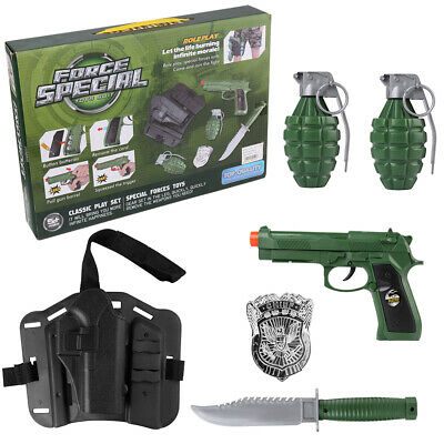 $23.70 • Buy Military Combat Army Force Pretend Play Set Toy Gun Christmas Gift For Kids Boys