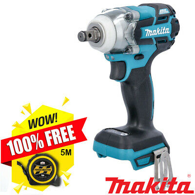 Makita DTW285Z 18V Brushless Li-ion Impact Wrench + Free Tape Measures 5M/16ft • 134.90£
