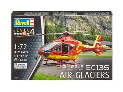 EC135 Air-Glaciers Elicottero Helicopter 1:72 Plastic Model Kit REVELL • 8.55£