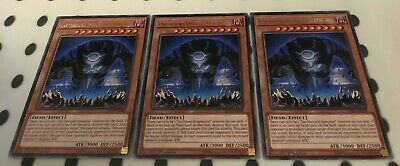 3 X Earthbound Immortal Ccapac Apu LED5-EN000 - Rare - 1st Edition YuGiOh NEW • 1.97£