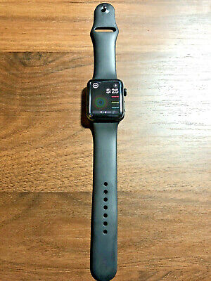 $ CDN350.50 • Buy Apple Watch 3 42mm Space Black Stainless Steel Case (GPS + Cellular)