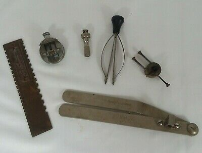 $ CDN70.37 • Buy Vintage Watch Repair Tool Lot Of 6 Watchmakers Bench Tools And Vises