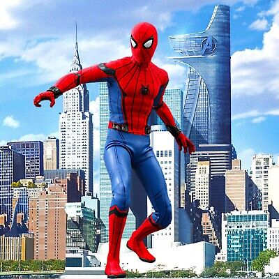$ CDN39.70 • Buy 1/6 Spiderman Backdrop - Ideal For 1/6 Homecoming Spider-Man Hot Toys MMS426