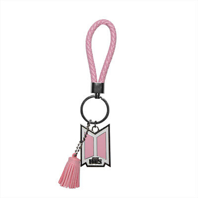 $12.99 • Buy BTS ARMY Logo Enamel Braided Rope Keychain Holder - Love Yourself Link Charm