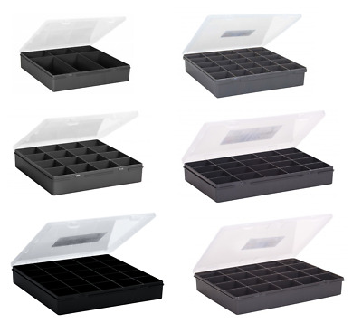 Compartment Plastic Storage Box Organiser Case Container Jewellery Craft Beads • 7.99£