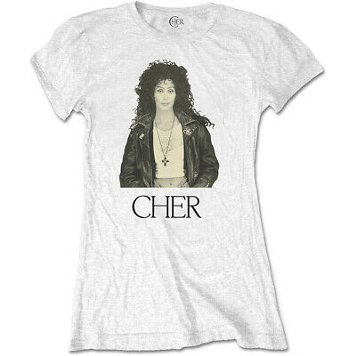 Ladies Cher Heart Of Stone Dancing Queen 2 Official Tee T-Shirt Womens • 13.99£