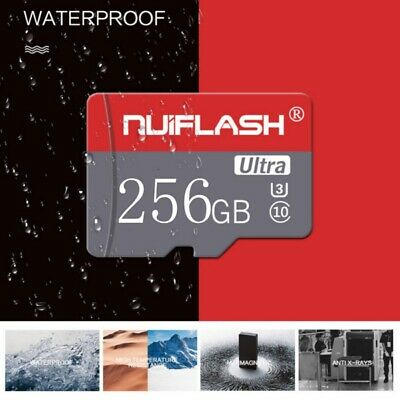 $9.79 • Buy 256GB TF- Flash Memory Cards SD-Card U3 C10 Cards For Phone Tablets Cameras