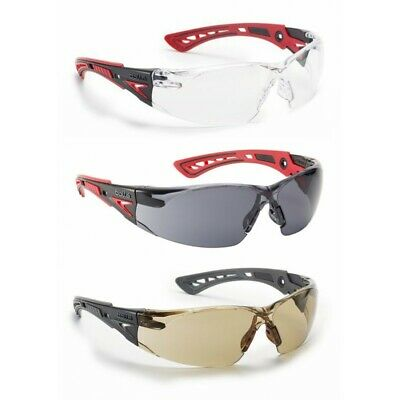 £9.99 • Buy Bolle RUSH+ Plus Safety Glasses Spectacles Eye Protection Cycling Skiing Sports