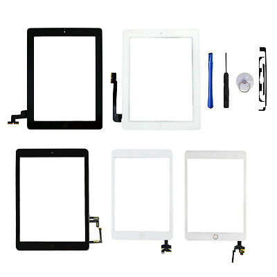 For Apple IPad 2/3/4/5/6/7/Mini/Air Genuine Digitizer Touch Screen Replacement • 13.06£