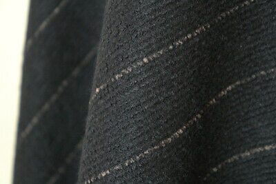 Faint Ribbed Knitted Felt Type Poly Wool Blend Coating Dress Fabric Material(26) • 5.99£