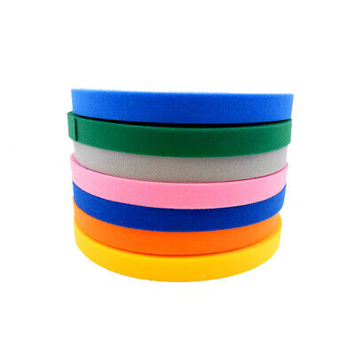 Double Sided Hook And Loop Tape Fastener Multicolor 15/20/25mm Cable Ties Strap • 4.33£