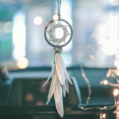 $8.96 • Buy Car Hanging Pendant Dream Catcher Feather Car Accessories For Girls