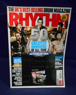 Rhythm Magazine October 2009 50 Greatest Drummers Of All Time • 3.99£