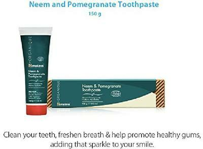 GIFT Himalaya Neem Pomegranate Fluoride Free Toothpaste 150g You Ha Only 2 Left! • 9.16£