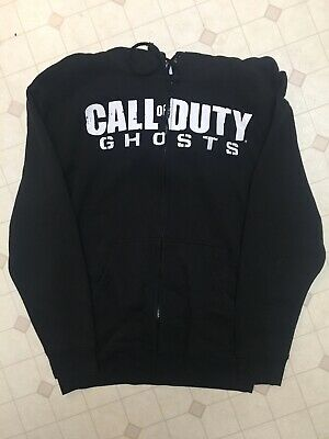 £7.79 • Buy CALL OF DUTY GHOSTS Black Hoodie (Large)