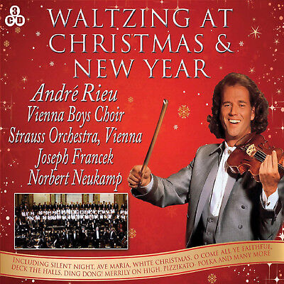 Christmas & New Year Concert - Andre Rieu - 3 CD SET - BRAND NEW SEALED VIENNA  • 4.49£