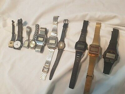 $ CDN29.03 • Buy Lot Of 10 Vintage TIMEX Watches