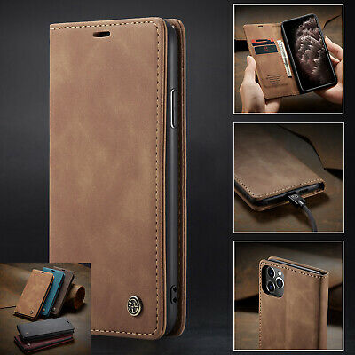 AU11.29 • Buy For IPhone SE 11/Pro/Max 8 7 Plus 6 S XS Max XR Leather Wallet Card Stand Case