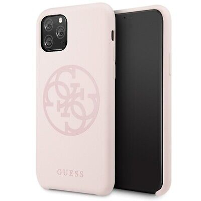 Genuine Guess Silicone 4G Tone Impact Case Cover For IPhone 11 Pro • 22.95£