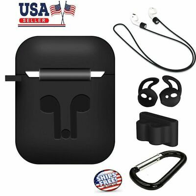 $ CDN7.72 • Buy Strap Holder / Silicone Case Cover For Apple Airpod Air Pod Accessories Airpods