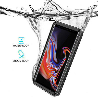 AU28.49 • Buy For Samsung Galaxy Note 9 Waterproof Case Full Body Cover Tough Screen Protector