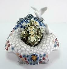Lladro Garden In Barcelona Flowers And Doves 6662 • 150£