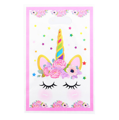 AU7.50 • Buy UNICORN Lolly Loot Party Bags 10 Pack Favour Birthday Party Decorations Supply