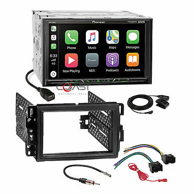 $359.95 • Buy Pioneer 7  Carplay Android Stereo Dash Kit Harness For GM Buick Chevy Pontiac