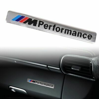 AU6.80 • Buy Bmw M Performance Decal Badge E90 E36 E46 M3 M2 Silver
