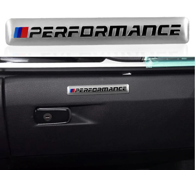 AU6.60 • Buy Bmw Performance M Decal Badge E90 E36 E46 M3 M2 Silver